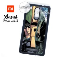 Casing Xiaomi Redmi Note 3 GreenArrow Vs Deathstroke Hard Case Custom