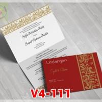 [V4] Undangan Pernikahan Soft Cover Murah & Unik 111