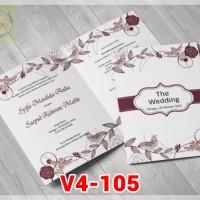 [V4] Undangan Pernikahan Soft Cover Murah & Unik 105