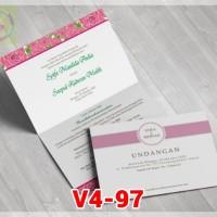 [V4] Undangan Pernikahan Soft Cover Murah & Unik 097