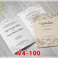 [V4] Undangan Pernikahan Soft Cover Murah & Unik 100