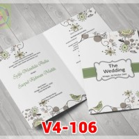 [V4] Undangan Pernikahan Soft Cover Murah & Unik 106
