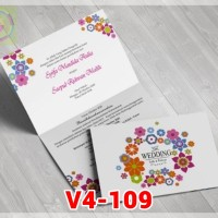 [V4] Undangan Pernikahan Soft Cover Murah & Unik 109