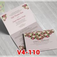 [V4] Undangan Pernikahan Soft Cover Murah & Unik 110