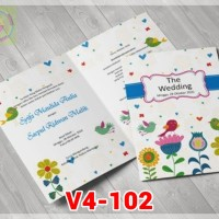 [V4] Undangan Pernikahan Soft Cover Murah & Unik 102