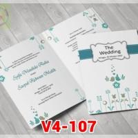[V4] Undangan Pernikahan Soft Cover Murah & Unik 107
