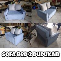 Sofa Bed 2 dudukan ! Sofa Santai ! Jakarta Barat
