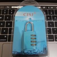 Gembok password dengan kombinasi 4digit angka gembok koper travel