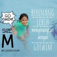 GoSwim / Go Swim size M (Baju Renang Pelampung Cuddle Me/CuddleMe)