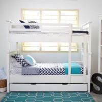 Jual Furniture Kamar Set Minimalis Tempat Tidur Dipan Anak Tingkat Susun 3 Murah