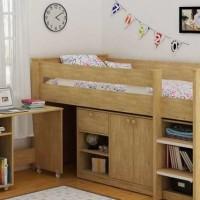 Jual Furniture Kamar Set Minimalis Tempat Tidur Anak Tingkat Susun Jepara Murah