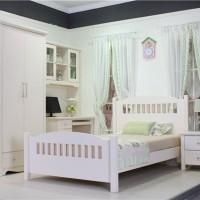 Jual Furniture Kamar Set Minimalis Tempat Tidur Anak Meja Belajar Almari Murah