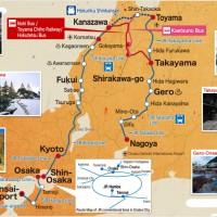 TAKAYAMA HOKURIKU AREA TOURIST PASS 5 DAYS - DEWASA