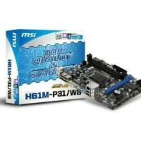 motherboard msi h61 socket 1155/WE149