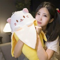 (Diskon) 48 - Boneka Bananya Boneka Kucing 50cm Impor Halus Banget