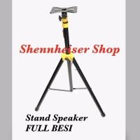 Stand Speaker FULL Besi Atau Tripod Speaker FULL Besi Import NEW