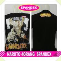 Kaos Spandek Naruto (Stok Baca Deskripsi)