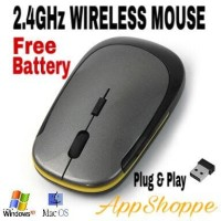 Wireless Mouse Ultra Slim Optical Thin Magic Mouse USB 2 4Ghz Mirip