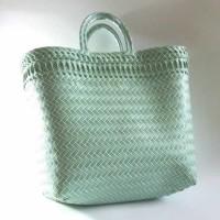 Harga tas wanita trend motif anyaman tas lokal tas murah tas | Pembandingharga.com