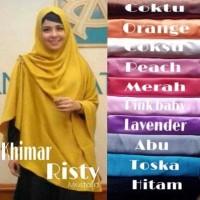 Hijab | Jilbab | Kerudung | Instan Syar'i KHIMAR RISTY RENDA VEL