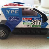 FORD RANGER - IXO 1:43, DAKAR 2015, DIECAST, RALLY #317 METAL, NEW IN