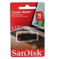 Asli Original USB Flashdisk SANDISK CRUIZER BLADE 16GB