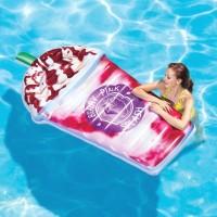 Matras Relax Air Berry Pink Splash Float 1.98mx1.007m - INTEX 58777
