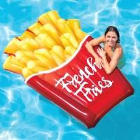 Matras Relax Air French Fries Float 1.75mx1.32m - INTEX 58775