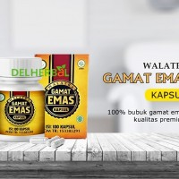 Walatra Gamat Kapsul Original  isi 100 kapsul BPOM & HALAL