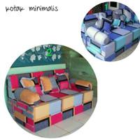 Sofa Bed Inoac 200 x 160 x 20 garansi 10 tahun