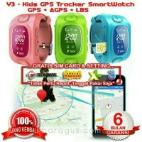 Y3, Kids GPS Tracker SmartWatch with Take Off Sensor