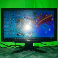 LCD Monitor Komputer Acer 19inch wide G195HQL