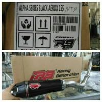 knalpot racing R9 yamaha aerox 155 nvx 155 R9 ALPHA SERIES ORIGINAL