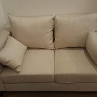 Fabelio Elis 2 Seater sofa cream