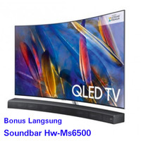 QLED TV SAMSUNG 65 Q8C UHD SMART TV 4K BONUS SOUNDBAR HW-MS6500 NEW