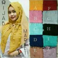 jilbab hijab instan rubiah triangle linen ruby model baru