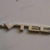 emblem I-VTEC untuk mobil honda brio/ jass