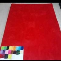 Karpet rasfur Bulu TEBAL 8 cm.uk. 140 x 200 cm polos