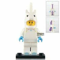Lego Unicorn Suit Guy Minifigure Bootleg