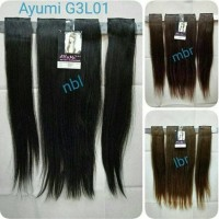 Hair Clip 3 Layer Straight Ayumi