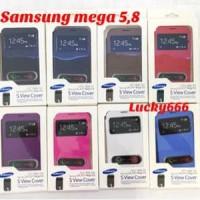 Flip cover view samsung mega 5 8 i9150 flipcover flip case meg