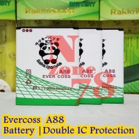 Baterai Cross Evercoss A88 Rakkipanda Double Power