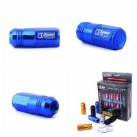 Baut Roda D1 Spec Racing Lug Nuts Set 20, size 12 x 1.50mm - BLUE
