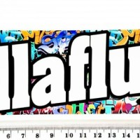 "Stiker - Dekorasi JDM ""Hellaflush Boom Background"" (L)"