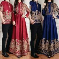 baju terbaik Couple batik queena baju muslim pasangan queen sarimbit
