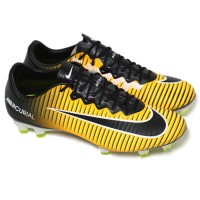 Sepatu Bola Nike Mercurial Vapor Xi Fg - Laser Orange Black White Volt