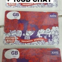 VOCER AXIS 1,5GB + 10GB KUOTA CHAT