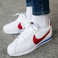 Nike Classic Cortez Leather Forrest Gump (White / Varsity Red Original