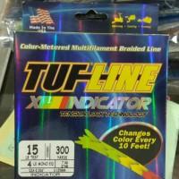 BRAIDED LINE TUF LINE XP INDICATOR 300YDS-15LB