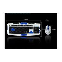Harga hk 8100 keyboard mouse wireless 2 4ghz gaming keyboard combo | Pembandingharga.com